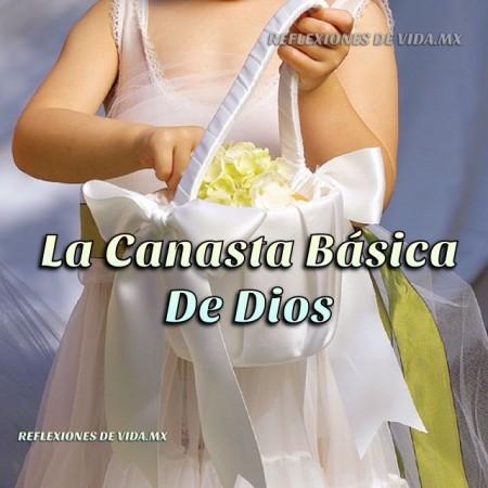 LA CANASTA BÁSICA DE DIOS