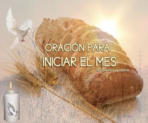 ORACIÓN PARA INICIAR EL MES